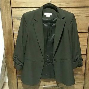 Michael Kors black blazer, 3/4 length sleeve, 8P